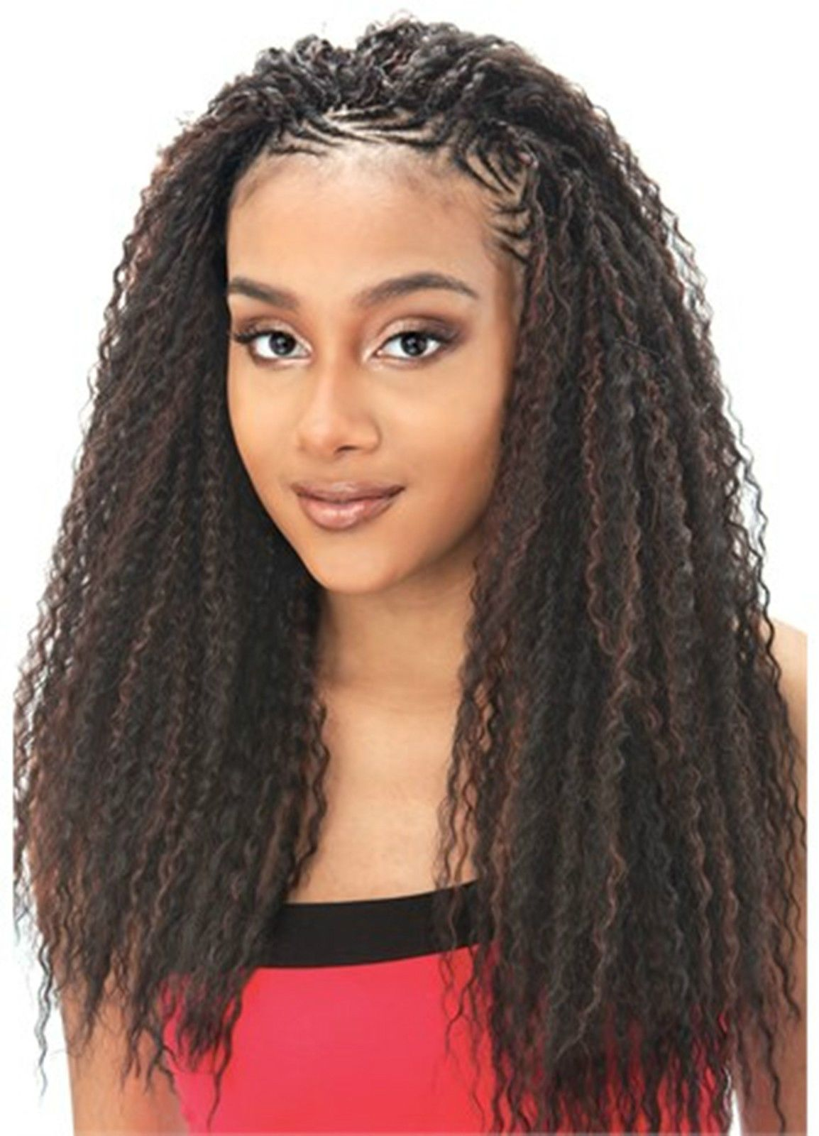 braid styles with synthetic hair curl model model glance synthetic hair extension 8076