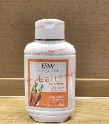 FAIR & WHITE CARROT BODY PRODUCTS